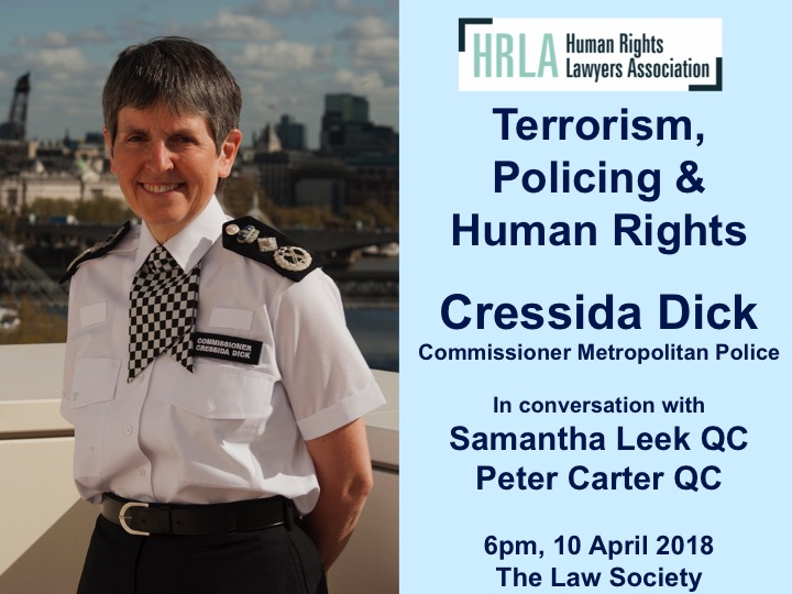 Terrorism, Policing & Human Rights @ The Law Society